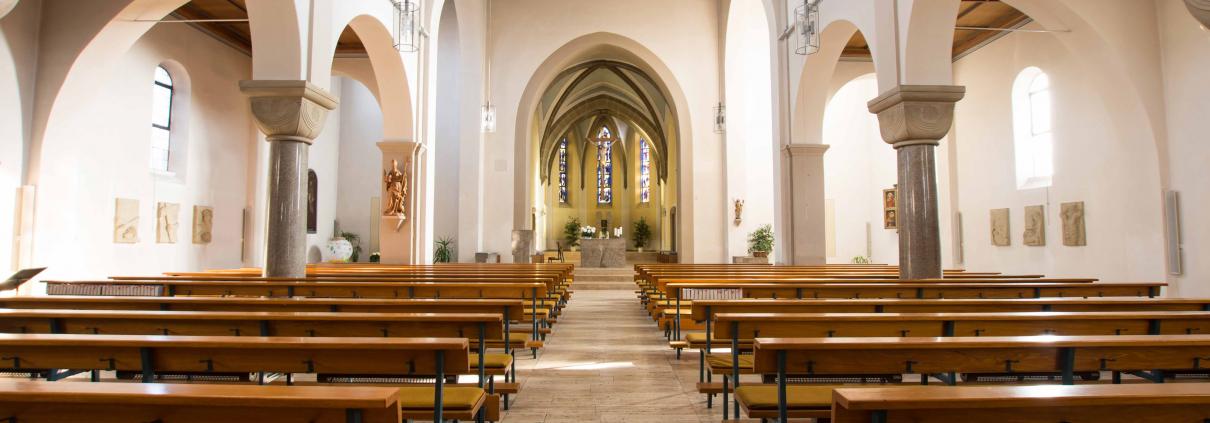 Kirche St. Martinus von innen