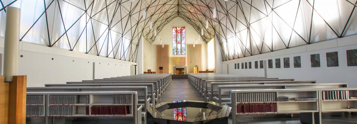 Kirche St. Augustinus von innen