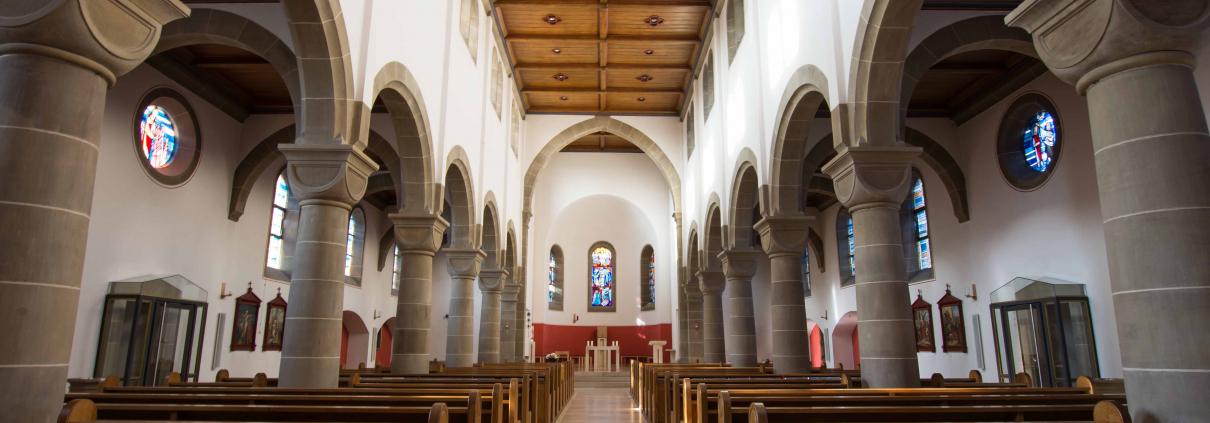 Kirche St. Kilian von innen