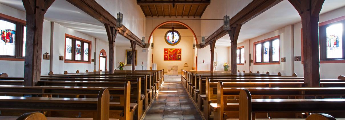 Kirche Maria Immaculata von innen