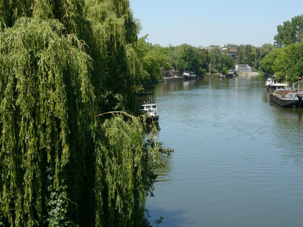 Neckar in Heilbronn
