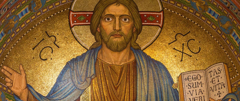 Christus-Ikone in Apsis