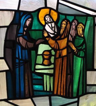 Das Zeugnis des Simeon und der Hanna über Jesus (Lukas 2,21ff)