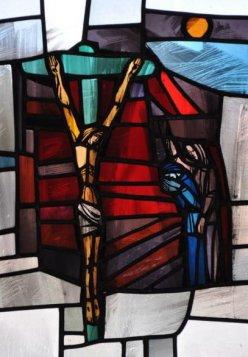 Die Hinrichtung Jesu (Matthäus,27,31ff; Markus 15,22ff; Lukas 23,26ff; Johannes 19,18ff)