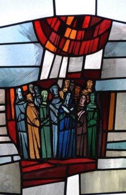 Das Pfingstereignis (Apostelgeschichte 2,1ff)