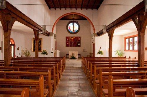 Kirche Maria Immaculata Innenaufnahme