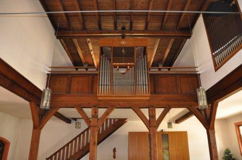 Empore und Orgel der Kirche Maria Immaculata