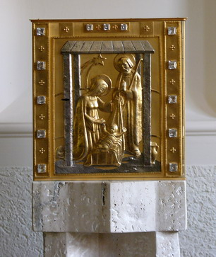 Tabernakel in der Kirche Maria Immaculata