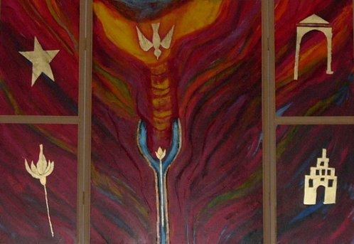 Triptychon in der Kirche Maria Immaculara