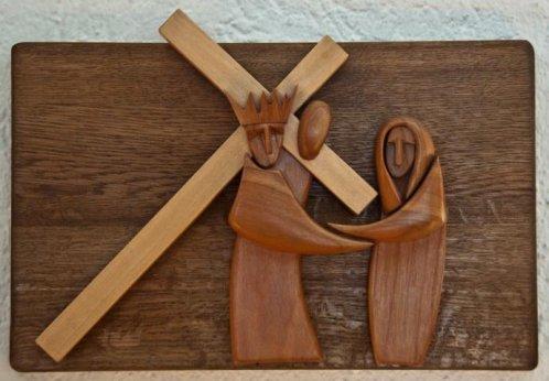 Kreuzweg von Arthur Elser in der Kirche Maria Immaculata Heilbronn